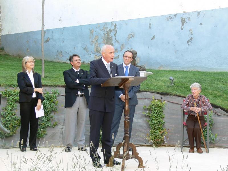 Inauguración De Museo Al Aire Libre Henri Lenaerts