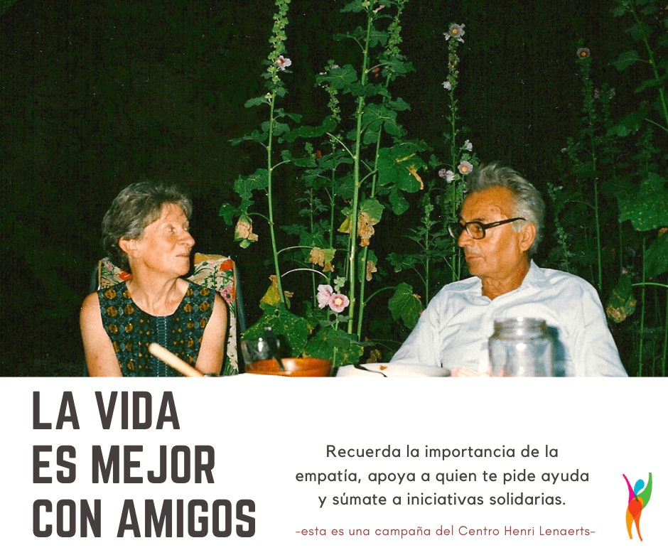 """Inicia La Campaña Solidaria """"La Vida Es Mejor Con Amig@s"""""""
