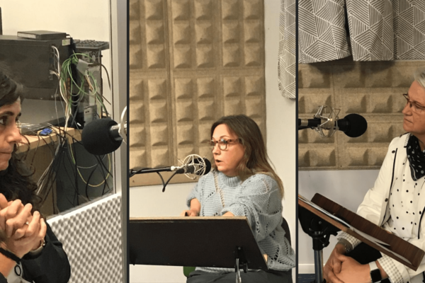 Aurkene Zaldua, Aitziber Urtasun Y Ana Aliende En El Podcast La Mujer A Través Del Arte De Los Hombres