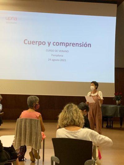"""""""Cuerpo Y Comprensión"""", Una De Las Charlas De La Segunda Jornada Del Curso De Verano 2021"""