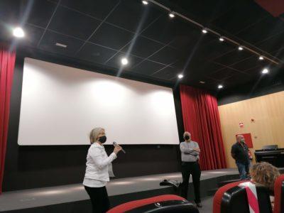 Ana Aliende En La Presentación Del Documental Henri Lenaerts. La Inquietud Por Saber