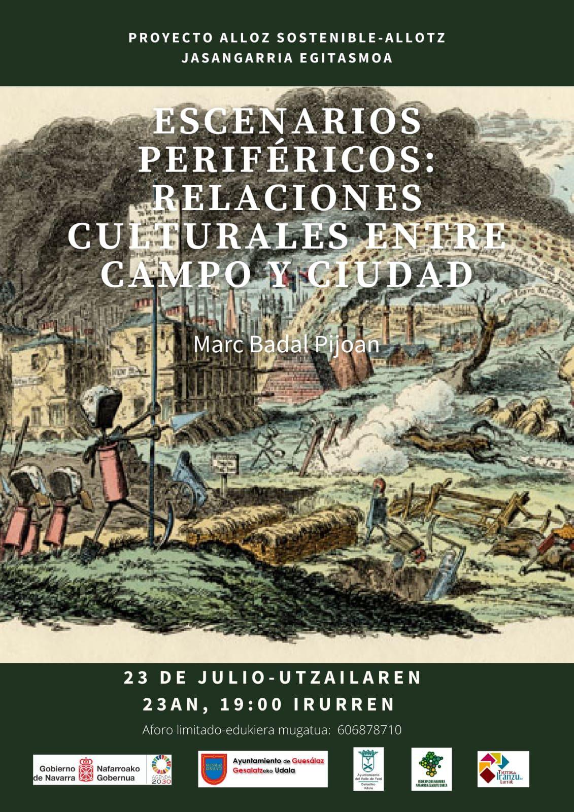 Charla Escenarios periféricos, relaciones culturales entre el campo y la ciudad