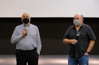 Ángel Sánchez Garro En La Presentación Del Documental Henri Lenaerts. La Inquietud Por Saber
